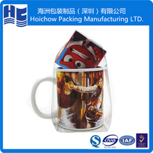 Lovely cup blister packaging tray with printed logo