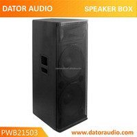15 inch professional speaker, wooden painted passive speaker box (3 way)