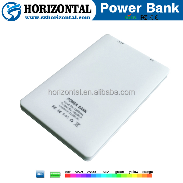 Small power bank card for mobiles 2200mah, credit card power bank 2600mah 3g wifi router with sim card slot with power bank