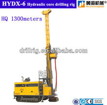 Track mounted diamond core drilling rig HYDX-6