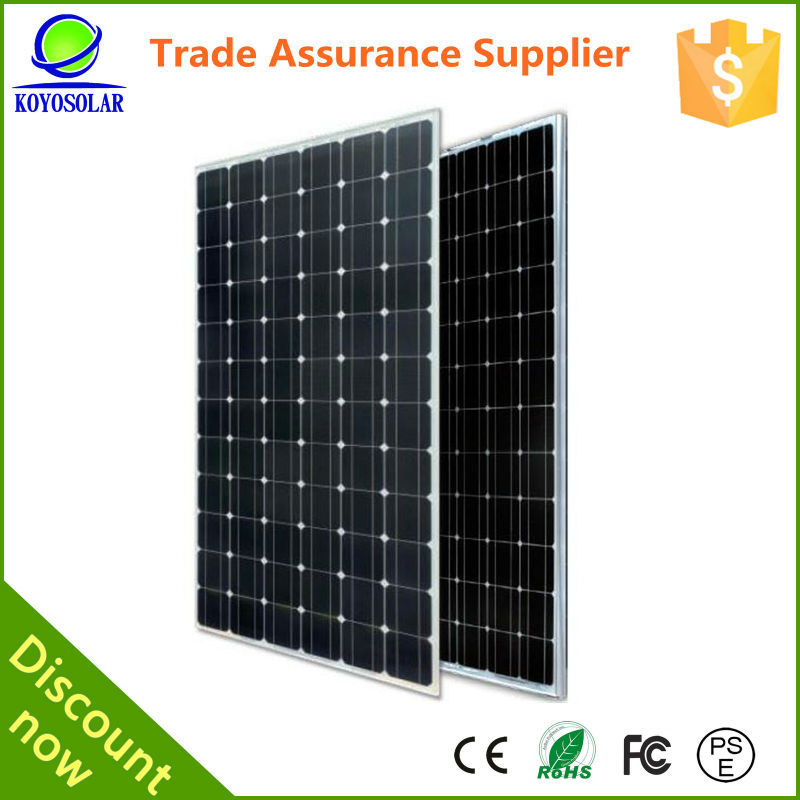 high quality commercial solar cell normal specification 100 watt soalr panel