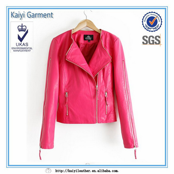 pink leather replica clothing,wholesale women clothing factory direct