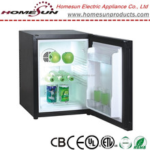 super cooling hotel minibar, temperature control fridge for drink/fruit with soft LED light