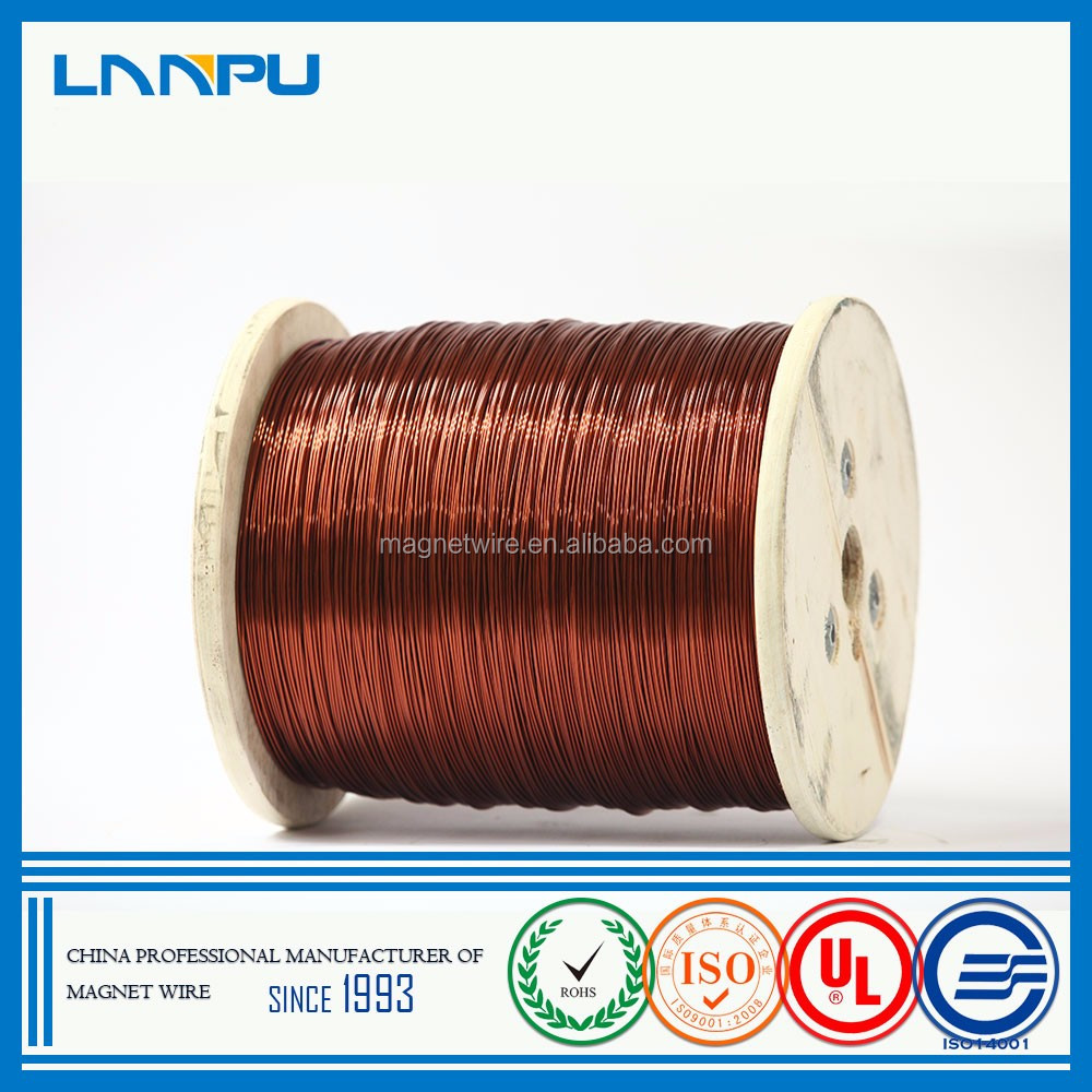 High Quality Modified Polyester Lacquered Insulated Winding Stator Enameled Copper Wire for motor winding
