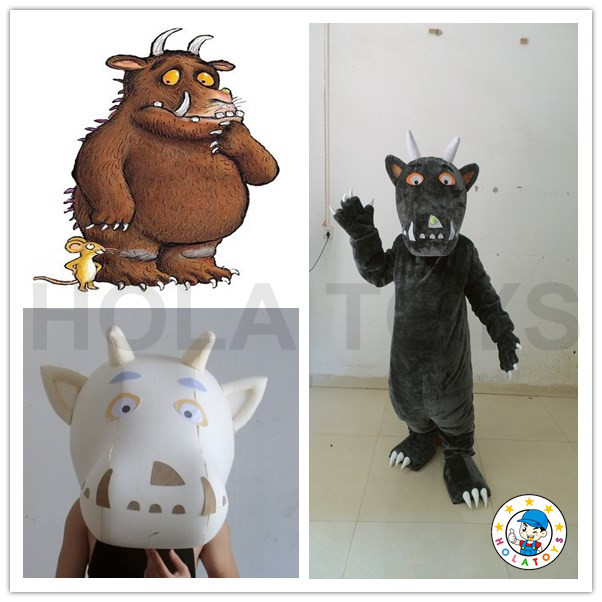 2016 gruffalo adult party costume/adult mascot for sale