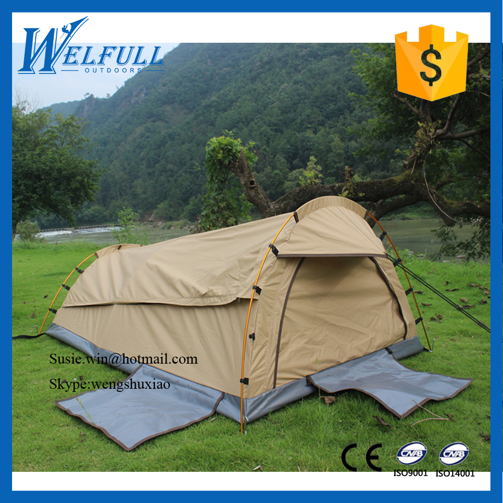 Waterproof Outdoors Luxury Single Person Camping Tunnel Tent