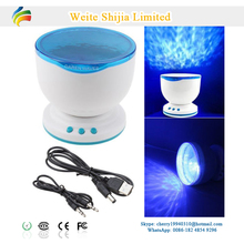 Battery Operated Ocean Waves Light Projector with Music