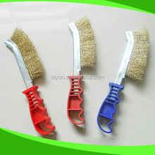 High Quality New Plastic Handle Steel Wire Brush