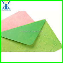 Yiwu New Arrivred Green Colored Opaque C4 Coloured Envelopes