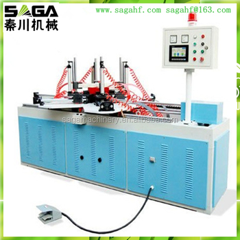 Cabinet Doorwood Picture Frame Joining Machine With High Frequency