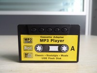 Classical mini clip mp3 player cassette adapter player