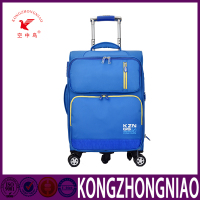 blue color Airline Cabin Size best travel hand luggage trolley high-end business universal wheel luggage handle parts