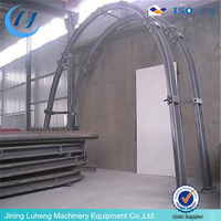 Luheng company made U steel beam arch in underground tunnel for support