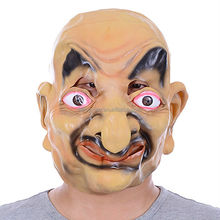 Party Supplies Mask Halloween Horror Masks Big Nose Old Man Eco-friendly Latex Mask