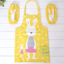 Baby Unisex Cotton Bibs Waterproof Kids Children Apron