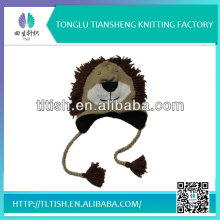 Fashion new design high quality unique free knitting patterns for adult animal hats