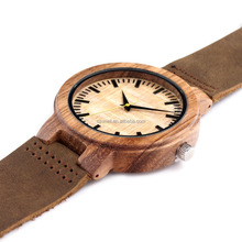 Eco-Friendly colorful wood bamboo watches 100 %natural bamboo watch
