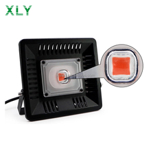 COB Led Flood Light 50W 100W Full Spectrum Outdoor Lamp Greenhouse 3GP King Led Grow Light For Plant And Microgreens