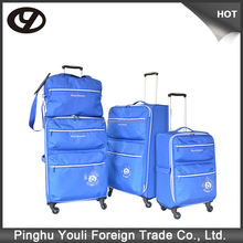 Ultra lightweight waterproof poly cabin size luggage