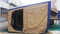 hot aluminum tent trailer