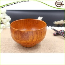 china cheap small wood food bowl for sale