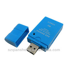 USB 2.0 high speed all in one mini card reader