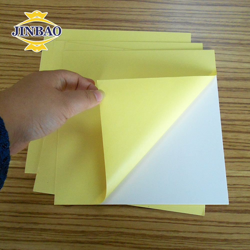 Self adhesive mount board pvc for album