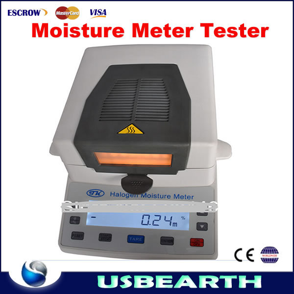 Newly arrival portable grain Infrared Halogen Moisture Meter Tester 0-100% Medicine Grain Tea XY-105W Goniophotometer