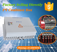 4/8/10/12/16 strings solar input channel pv module combiner box