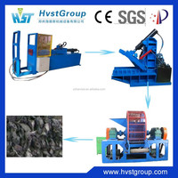 Advanced technology rubber cutter / whole tire cutting machine