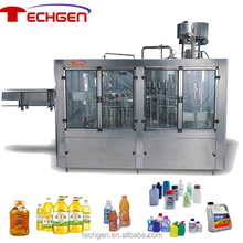 Rotary Weight Filling Machine for Cooking Oil Juice Milk Engine Oil Detergent or Personal Care Porudcts
