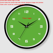 Wholesale cheap customized large painting wall decoration clock