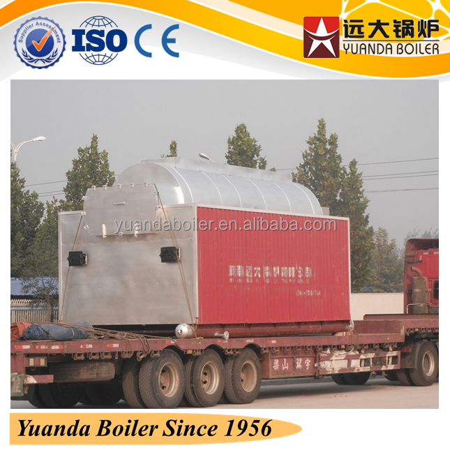 coal or other solid fuel fired water heating boiler for homes