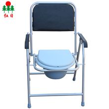 Rehabilitation Therapy elderly potty folding commode patient toilet chair price