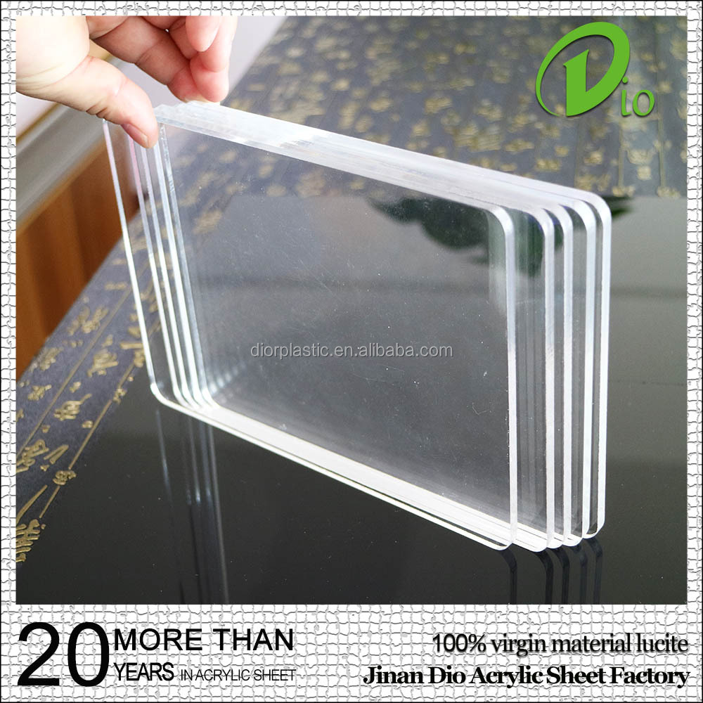Dio new material cast organic glass plate clear acrylic cutting board 3mm
