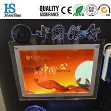 new products 2014 advertisement frameless light box