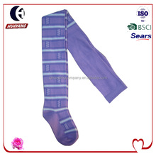 Children wall designed knitting cotton tights/pantyhose