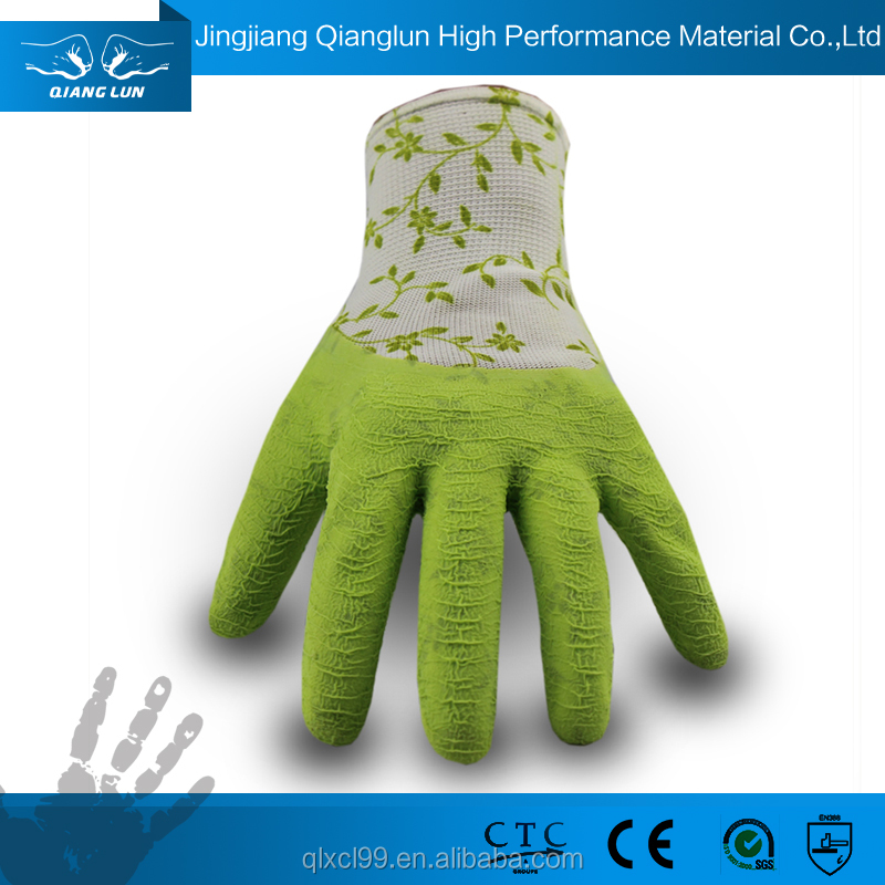 types of safety latex palm coated dipping gloves making machine