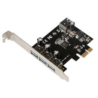 MosChip PCI Express to Parallel Controller Card DB25 Printer LPT Port Expansion Adapter Card