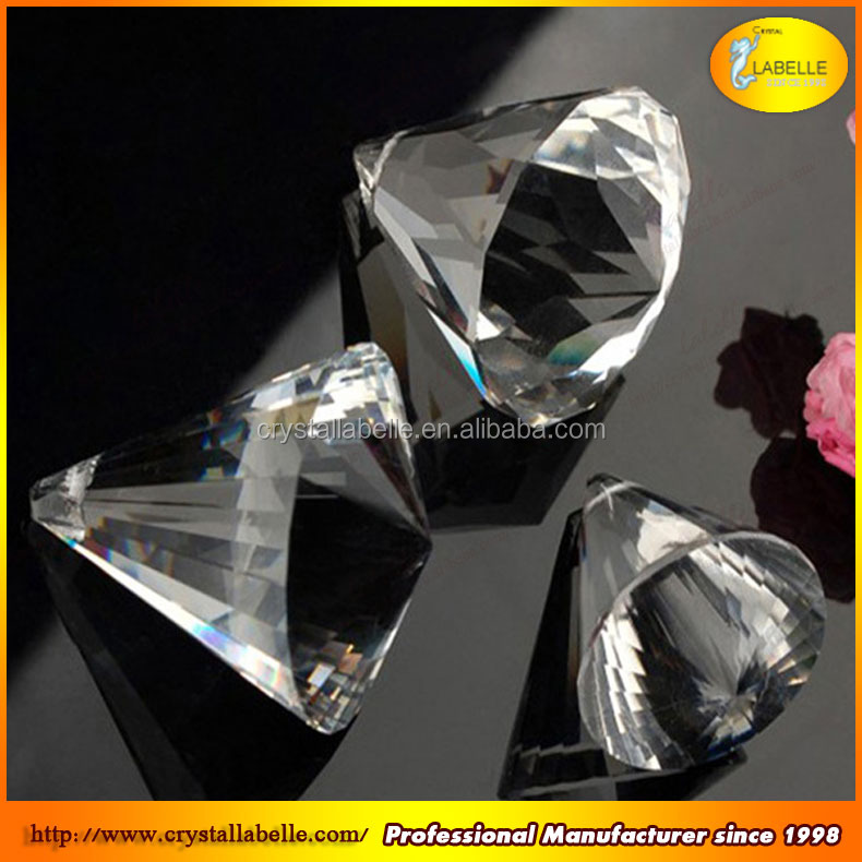 Crystal ball clear acrylic faceted ball chandelier parts