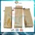Kraft Paper Aluminum Foil Quad Seal Coffee Bag with Zipper