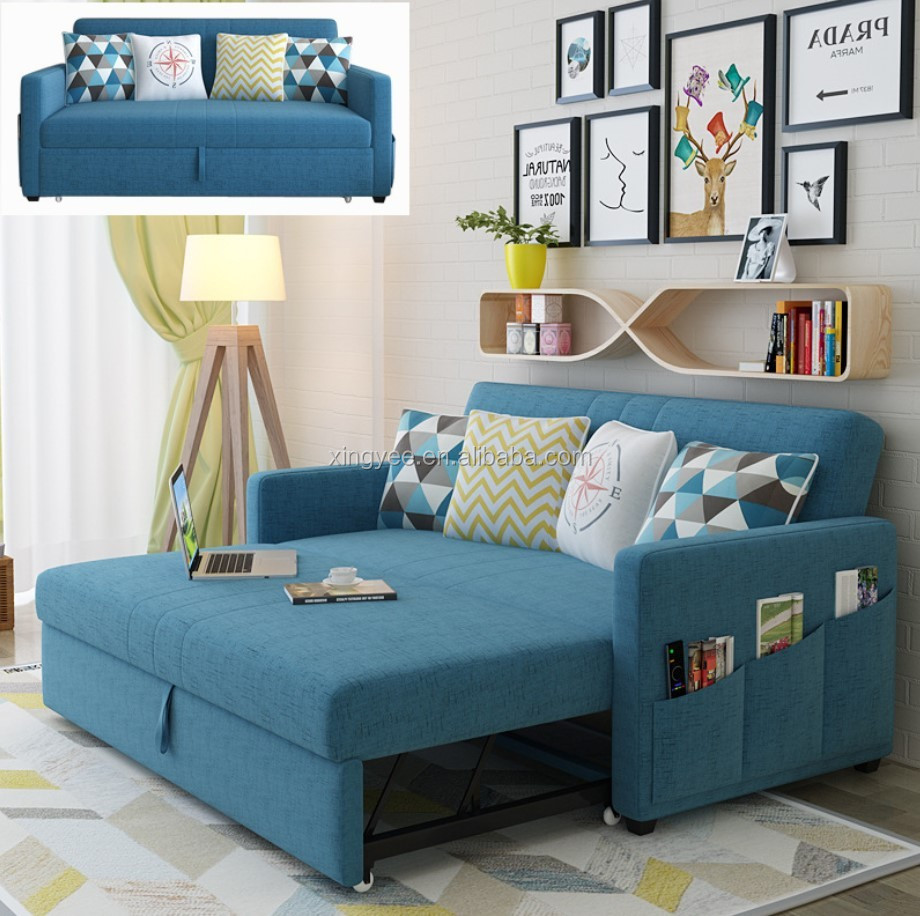 Sofa Cum Bed Living room Furniture Fabric transformer sofa bed hotel single  seat folding sofa bed, View beds sofa, NO Product Details from Jieyang ...