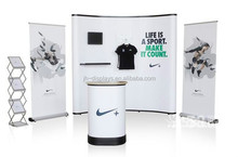8ft 10ft Trade Show Pop Up Wall Advertsing Exhibition Photo Booth