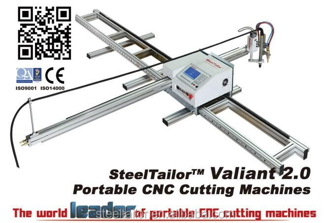 Patented! SteelTailor Valiant2.0 portable CNC plasma cutter hot sale,9000pcs sold