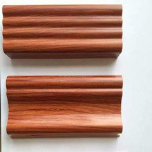 teak timber Engineered corner wood moulding