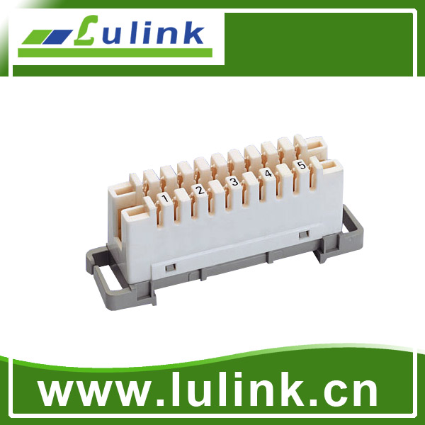 Telecom Accessories Products 5 pairs /10 pairs krone connection module, disconnection module
