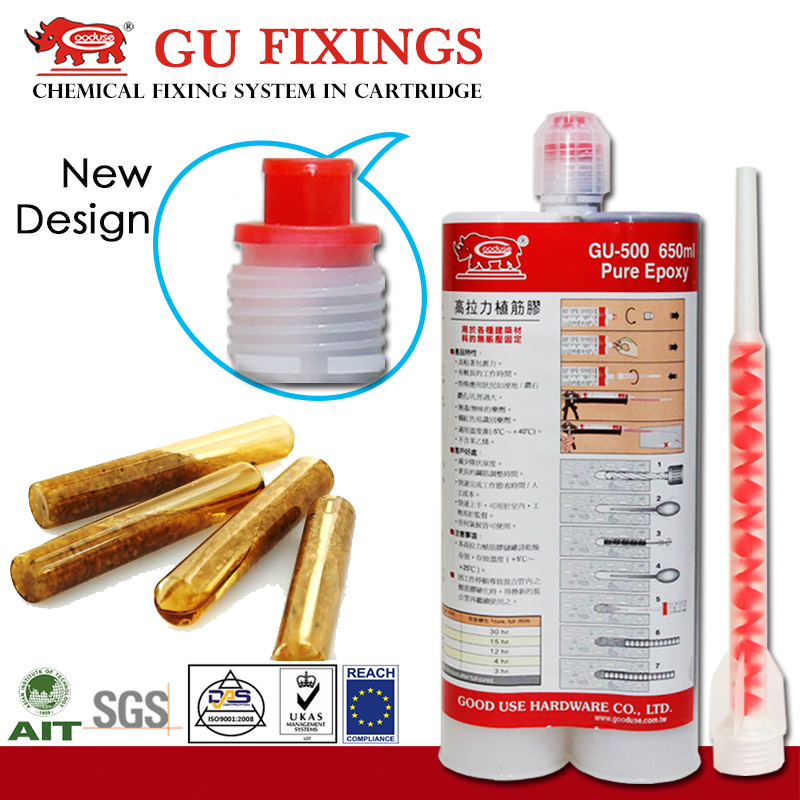 650ml 1:1 epoxy resin styrene free slow gelling heavy steel construction metal adhesives