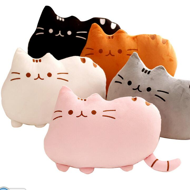 1pc 25cm Plush Toy Atuffed Animal Doll, Anime Toy Pusheen Cat for Girl Kid Kawaii Cute cushion Car Decoration Brinquedos