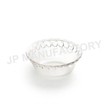 Unbreakable Dia 17cm Apple pattern Frosted cute salad bowl