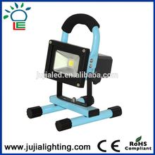 IP67 portabel rechargeable cob 5w led rgb floodlight